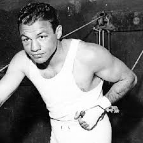 Tony Canzoneri won the featherweight titles, the lightweight title twice and the junior welterweight championshi twice.