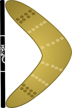 The Boomerang-A Well Known Symbol Of Australia