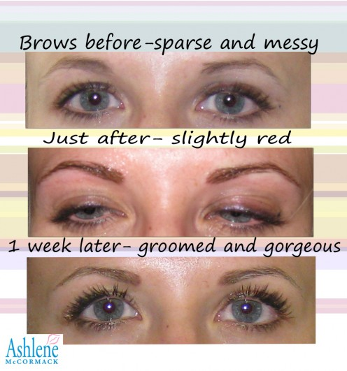 Permanent Makeup - Eyebrows – I can't believe I did it!