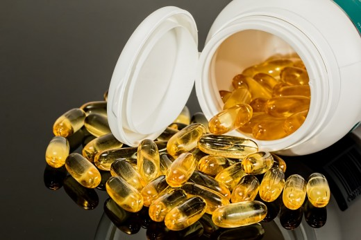Fish oil is high in DHA and EPA