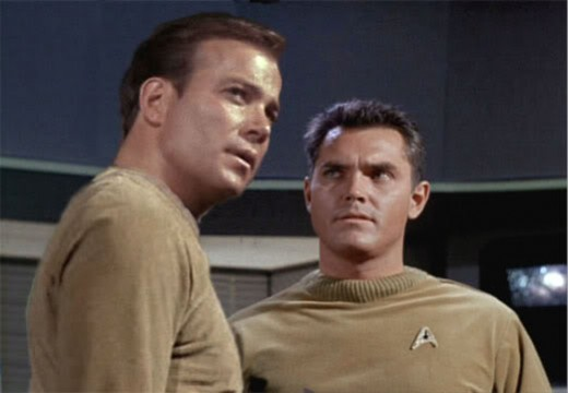 Kirk and Pike.