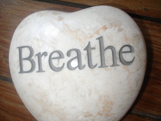 Your breath can be used to cleanse crystals until you have access to better methods.