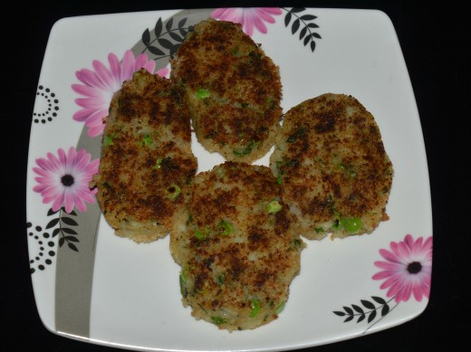 Potato tikkis