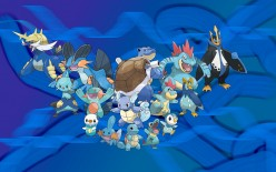 20 Years of Pokemon: Fire, Water, and Grass. Water Starters.