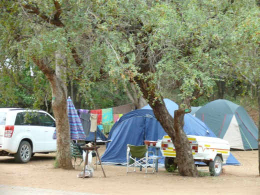 Camping at Kruger National Park