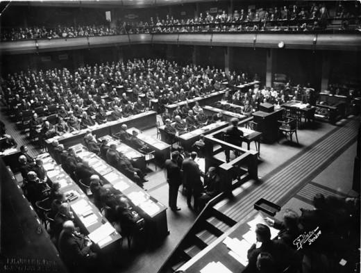 The League of Nations failed.