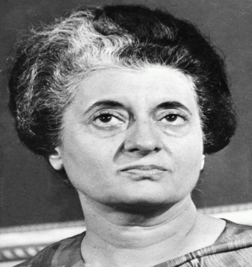 Indira Priyadarshini Gandhi 1st Female Prime Minister in Indian