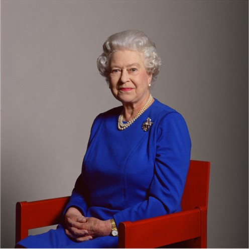 The new portait of the Queen taken by Lord Snowdon to mark her 80th birthday.