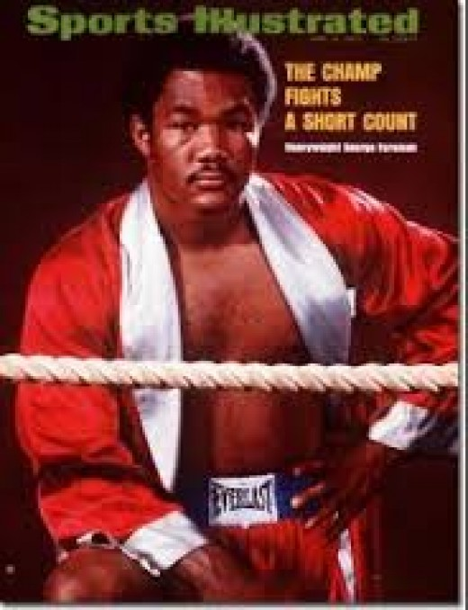 George Foreman was on top of the woeld when he won the heavyweight title in 1973 and remarkably he won it again in 1994, 20 years later.