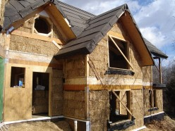Straw Bale House Construction - Part 2