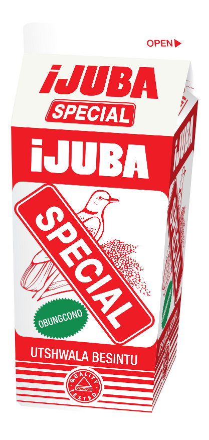 Product names that symbolize something also work.  ijuba is a dove.  It flies high.  This product is supposed to be African beer in a carton.  It has been in South Africa for generations.  No English is necessary because young and old know it.