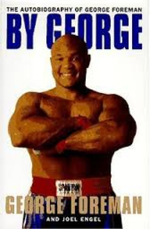 George Foreman released a book about his life and he toured the country to promote it.