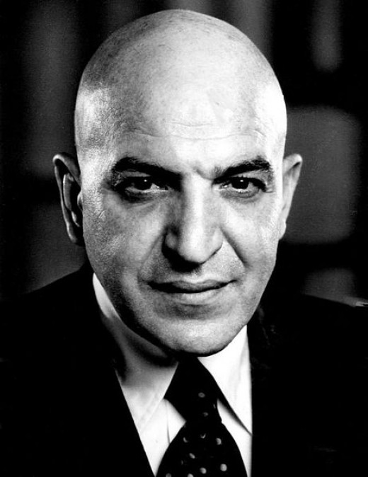 Telly Savalas as Theo Kojak  from the premiere of the television  program Kojak.