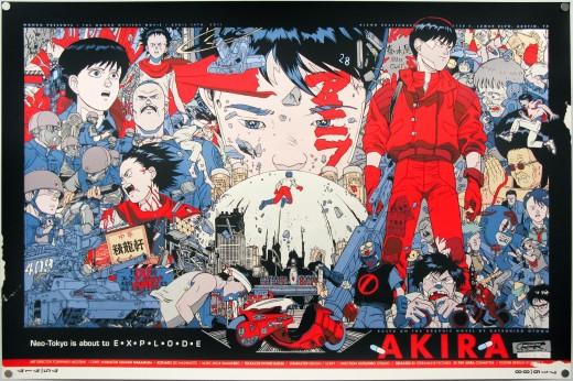 Akira Screenprint