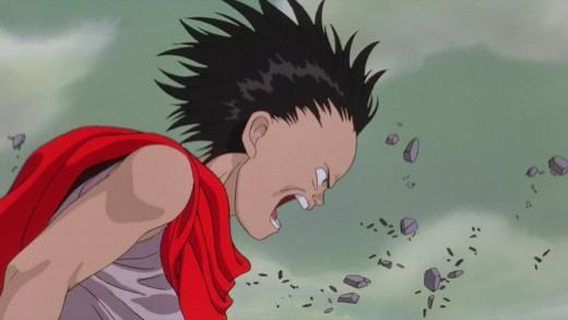 Tetsuo powers up.