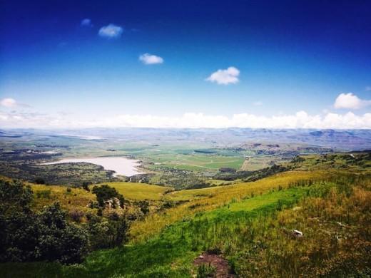 Olivierspas, Drakensberge, Kwazulu-Natal