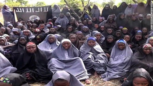 Picture of those kidnapped by Boko-haram