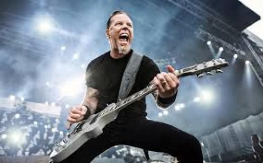 Thrash metal band Metallica's frontman James Hetfield
