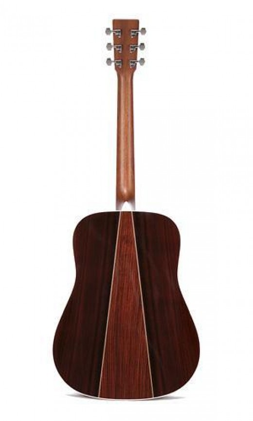 Martin D 35 Three Piece Rosewood Back