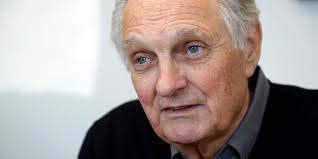 Oscar nominated, Alan Alda, of M*A*SH, ER, and other films.