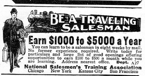 Selling salesmen?
