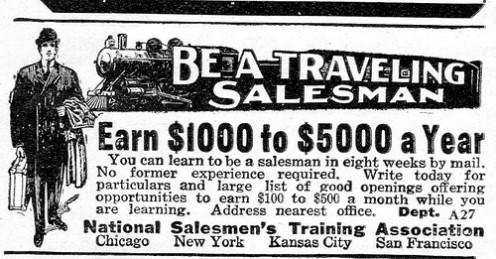 Selling salesmen?