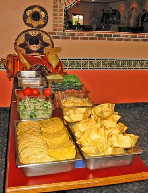 Taco bell restaurant copycat recipes home taco bar for Bar food ideas recipes