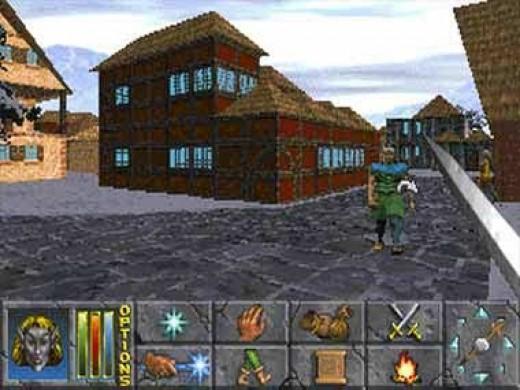 The Elder Scrolls II: Daggerfall - A WRPG