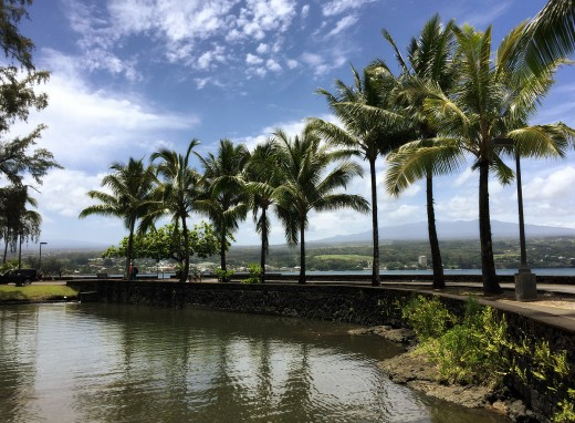 A beautiful Sunday in Hilo.