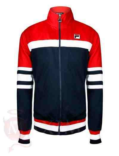 Red Fila Court jacket
