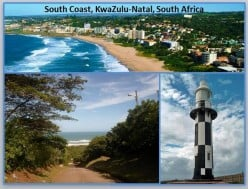 The South Coast, KwaZulu-Natal, South Africa – a Travelogue