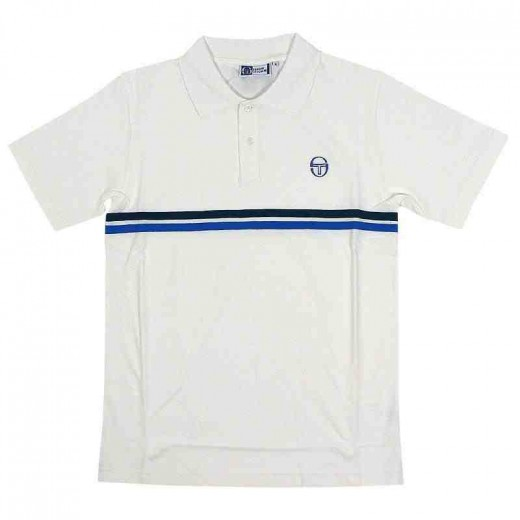 The classic Sergio Tacchini polo shirt as worn by John McEnroe