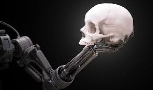 Cyborgs will start out being obedient but they will start to get greedy and will start a rise up against the world.