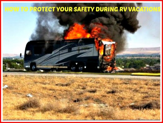 This is what can happen when you don't check for RV gas leaks