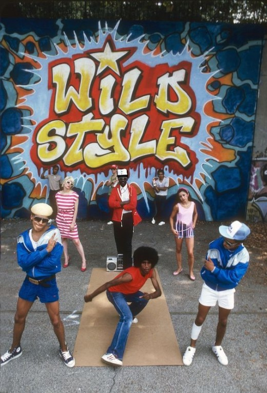 "From the movie "" Wild Style """