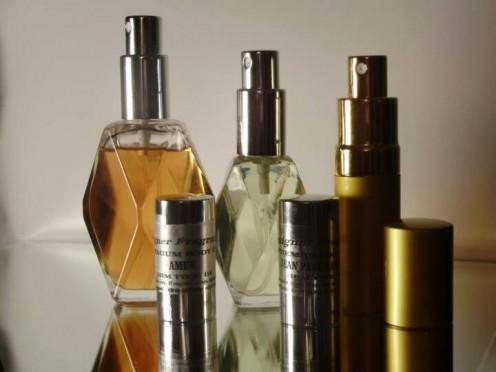 Water based perfumes