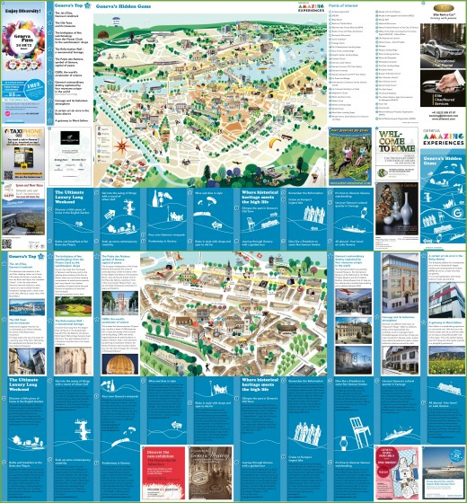 Geneva tourist map. If the resolution is too low, you can download this map from http://ontheworldmap.com/switzerland/city/geneva/geneva-tourist-attractions-map.jpg