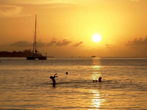 Scenes like this one in Jamaica attract vacationers to western Caribbean cruises.