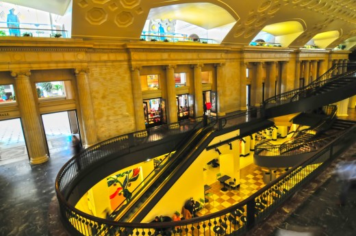 Inside the DC Union Station.