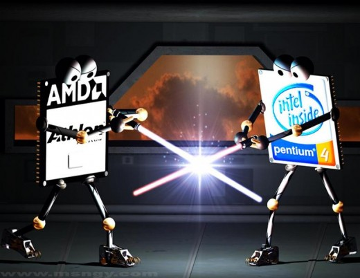 CPU: Intel Vs AMD