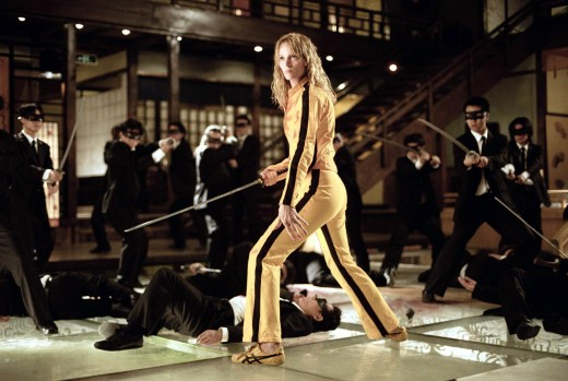 Uma Thurman vs Crazy 88 in Kill Bill Vol. 1