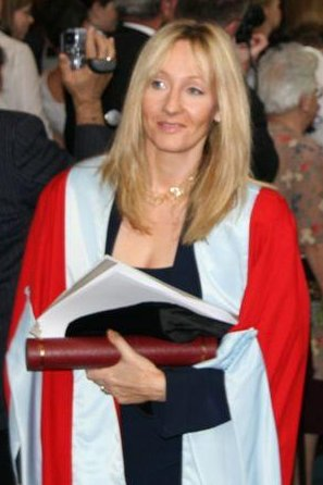 J K Rowling Photo: Sjhill (Steven Hill) http://en.wikipedia.org/wiki/User:Sjhill
