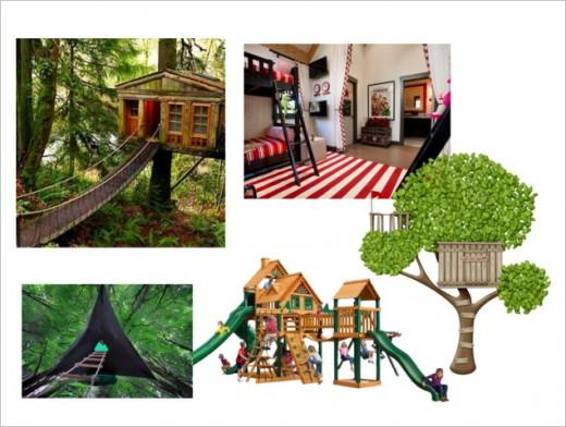 Cool tree house adventures!