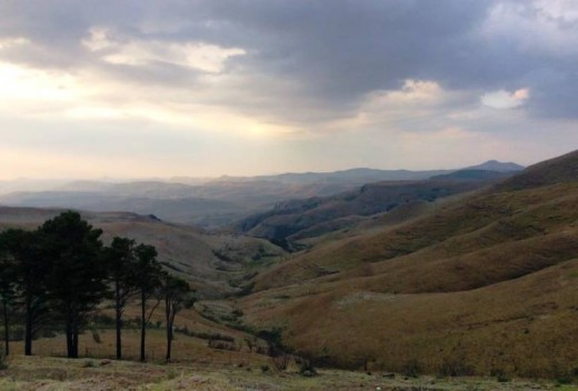 At Witsieshoek, Drakensberge, South Africa