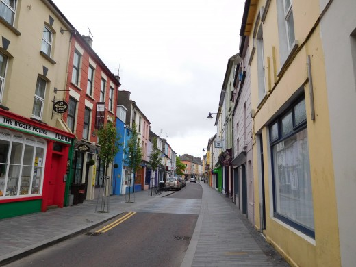 A street in Clonakilty, Ireland
