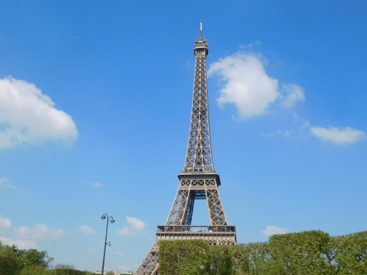 No trip into Paris would be complete without a photo of the Eiffel Tower.