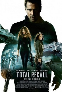 Poster for the 2012 Total Recall remake.