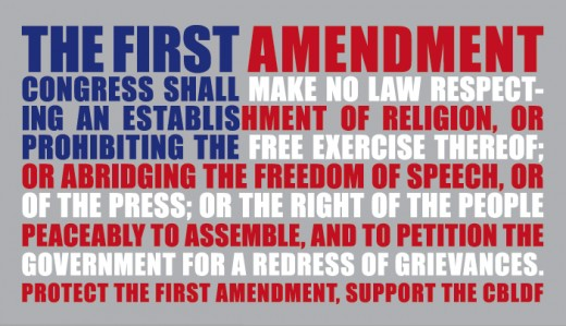 CONSERVATIVES BELIEVE THAT THE UNITED STATES CONGRESS MAY NOT LEGISLATE A NATIONAL RELIGION BUT NEITHER SHOULD ANYBODY INTERFERE OF PROHIBIT THE FREE EXERCISE OF RELIGION LIBERTY