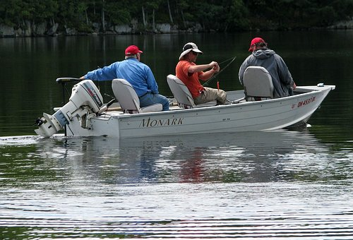 A professional fisherman cannot stay in one place and catch fish--especially if the fish aren't biting.