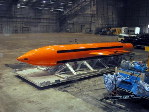 GBU-43/B Massive Ordinance Air Blast Bomb